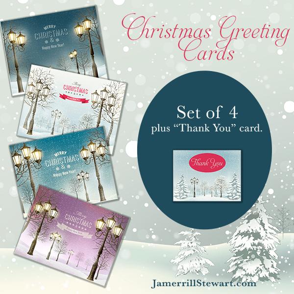 Free Christmas Card Set