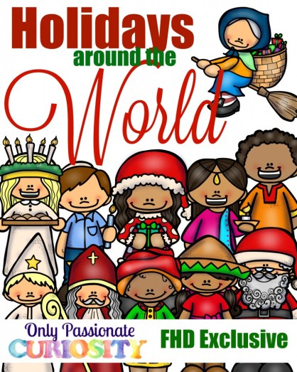 FREE Christmas Around the World Study