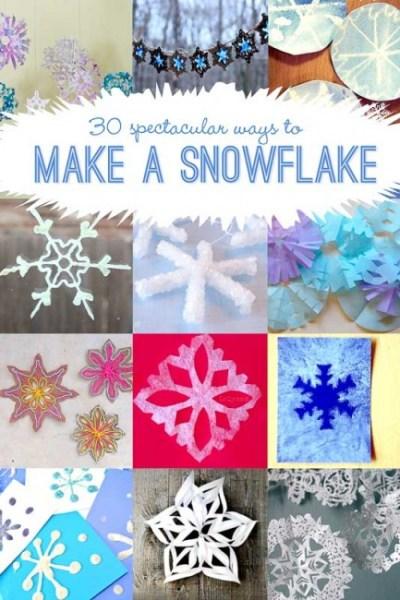 30 Ways to Make a Snowflake