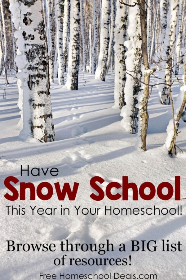 Big List of Resources for Snow School!