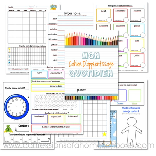 FREE Daily Learning Notebook