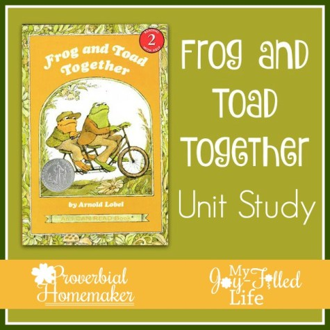 Free Frog & Toad Together Unit Study
