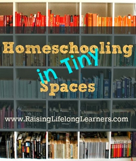 Homeschooling in Tiny Spaces