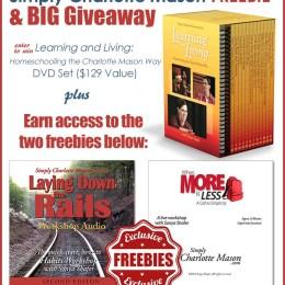 2 FREE Simply Charlotte Mason Workshops