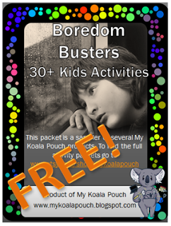 FREE Boredom Busters for Kids
