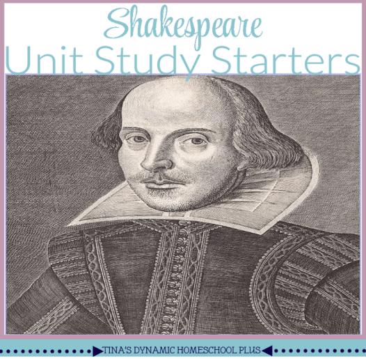 FREE Shakespeare Unit Study