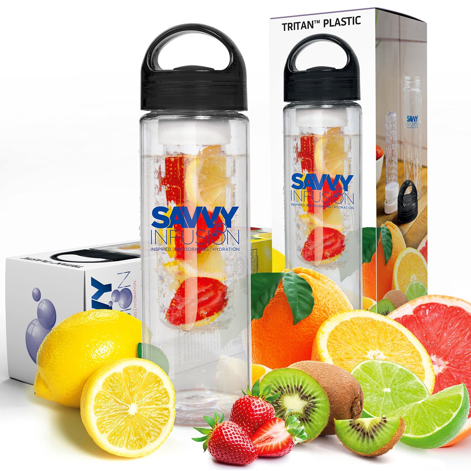 Savvy Infusion 24 Oz Water Bottle Only 12 95 55 Off