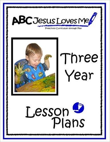 ABC Jesus Loves Me Homeschool Preschool Curriculum
