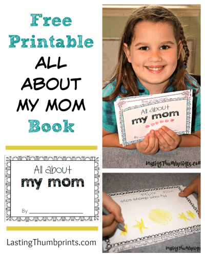 Free All About My Mom Printable Book