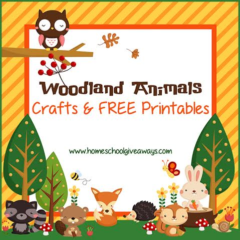 Accomplished image with free printable woodland animal templates