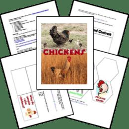 FREE Chickens Lapbook