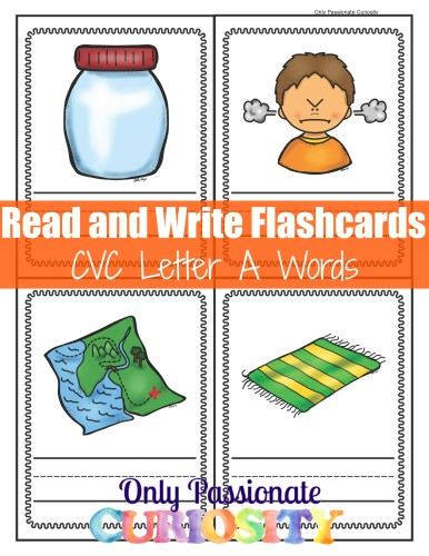 FREE Read and Write Flashcards