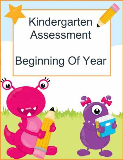 FREE K Assessment Pack