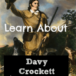 FREE Davy Crockett Unit Study & Notebooking Page