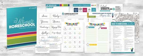 FREE The Ultimate Homeschool Printable Collection - (75+ Pages!)