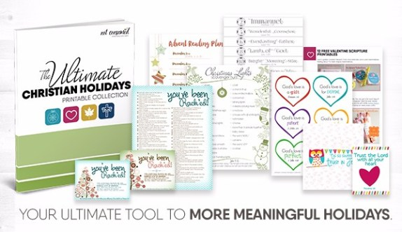 Free Ultimate Christian Holiday Printable Collection