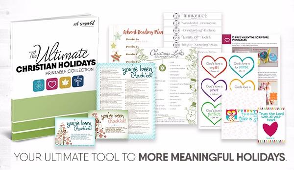 Free Ultimate Christian Holiday Printable Collection
