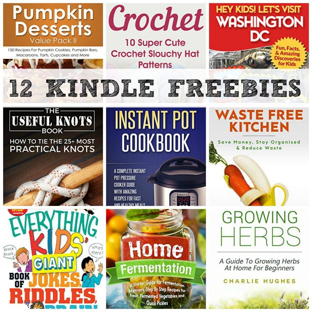 12 Kindle Freebies Instant Pot Cookbook Let S Visit Washington Dc More
