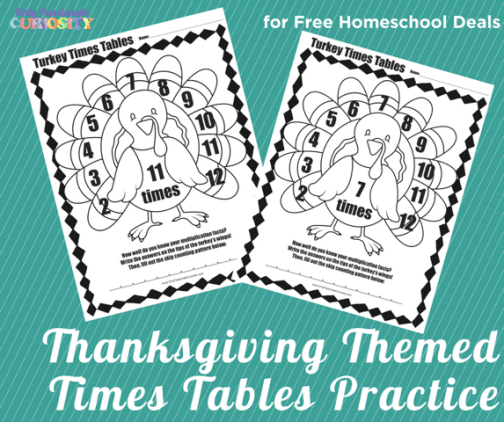 FREE Thanksgiving Math Pack