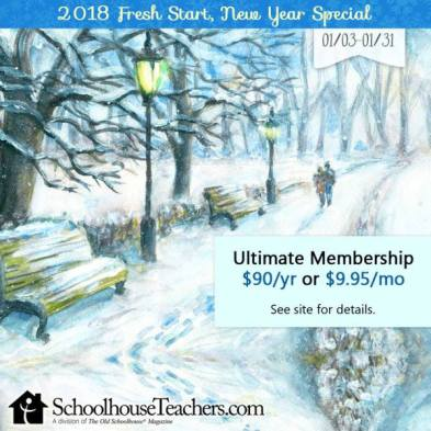 SchoolhouseTeachers Annual Membership Only $90! (Reg. $139!)