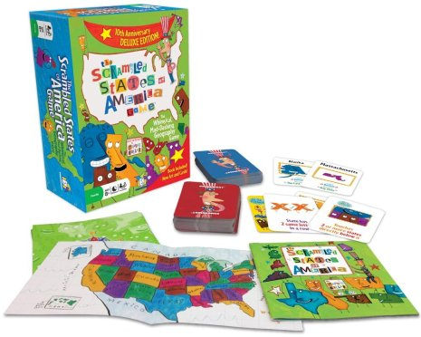 The Scrambled States of America Game Only $11.84! (Reg. $15!)