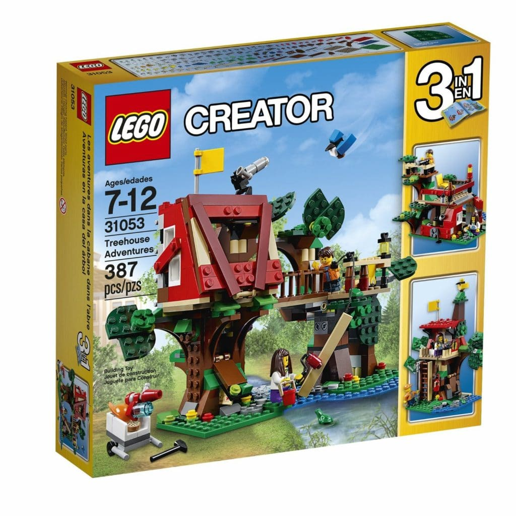 Lego Creator Treehouse Adventures Building Kit Only 26 49