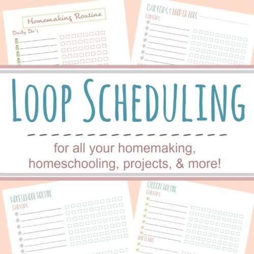 Free Loop Scheduling Printables