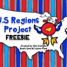 Free U.S. Regions Printables