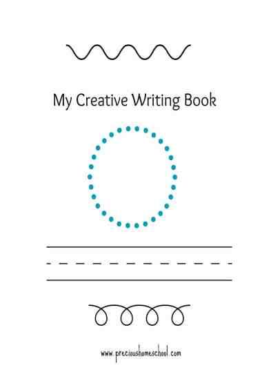 Free My Creative Writing Book Printables
