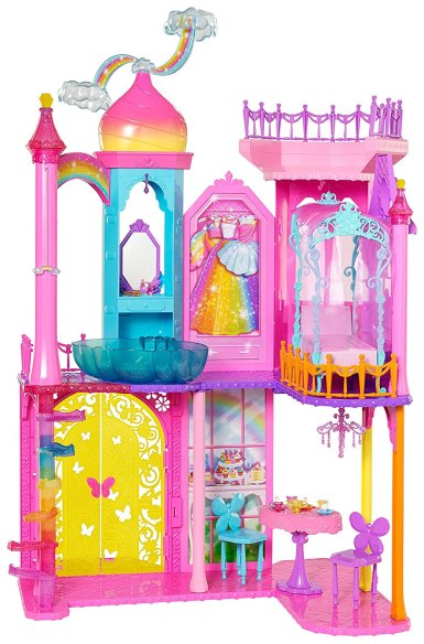 Barbie Rainbow Cove Princess Castle Only $34.98! (Reg. $100!)
