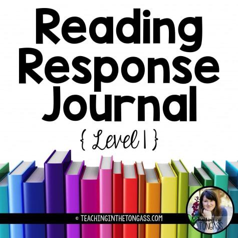 Free Reading Response Journal