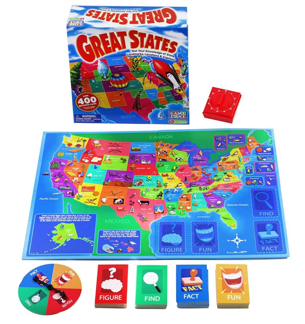 12 Fun Games For Learning U S Geography