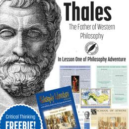 FREE Thales Philosophy Unit Study