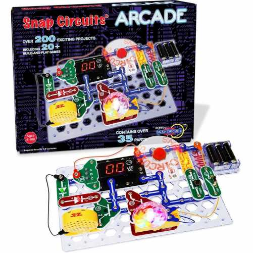 Snap Circuits Arcade Electronics Kit Only $34.64! (Reg. $65!)