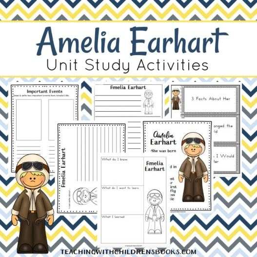 Free Amelia Earhart Unit Study (Grades K-2)