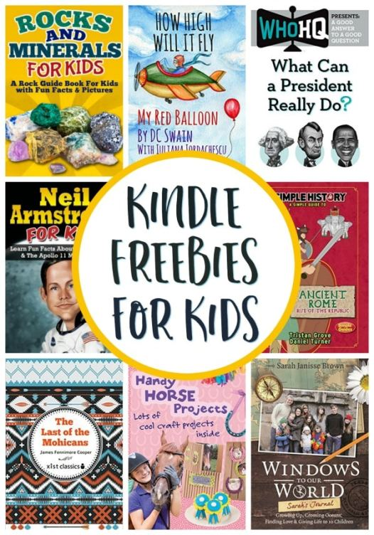17 Free Kindle Books for Kids!