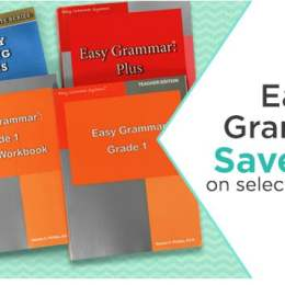 25% Off Easy Grammar Curriculum