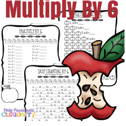 Free Apple Multiplication Worksheets