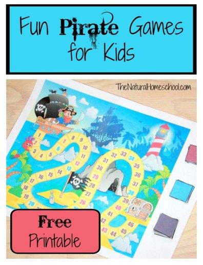 Free Printable Pirate Game