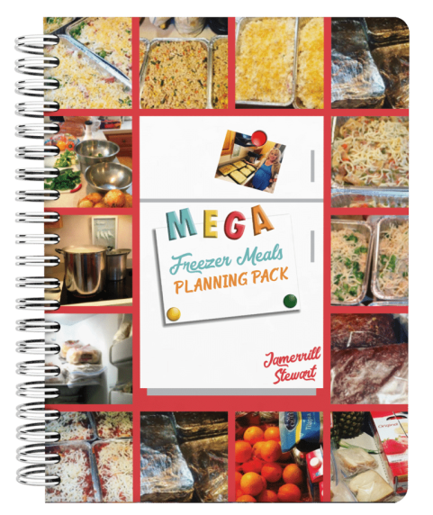 Free MEGA Freezer Meals Planning Pack