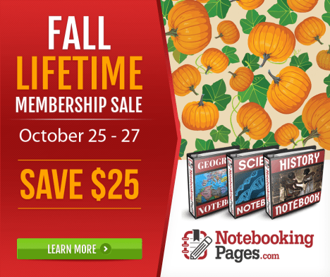Notebooking Pages Lifetime Membership Sale - Only $72!