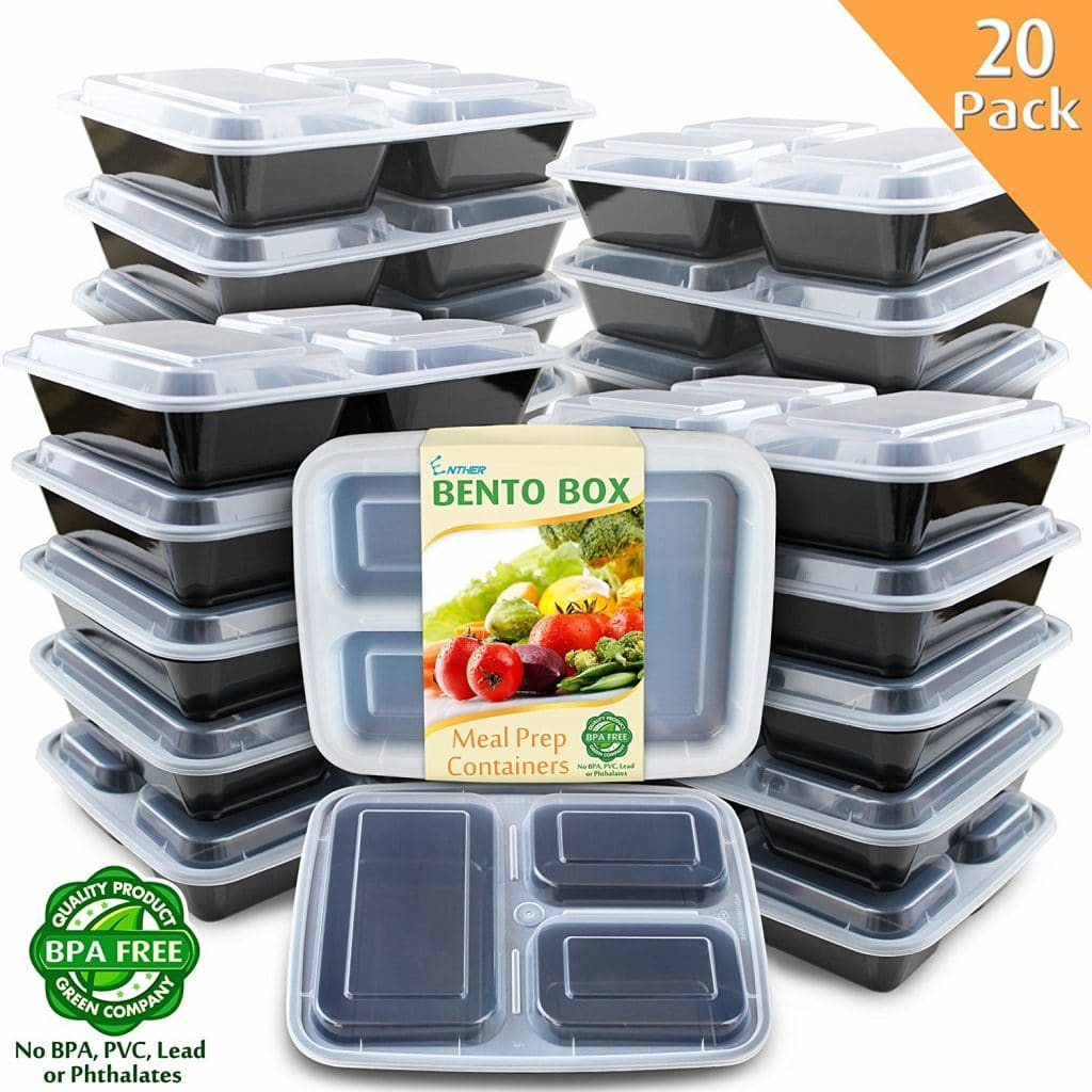 20 Pack Meal Prep Containers Only 17 99 64 Off