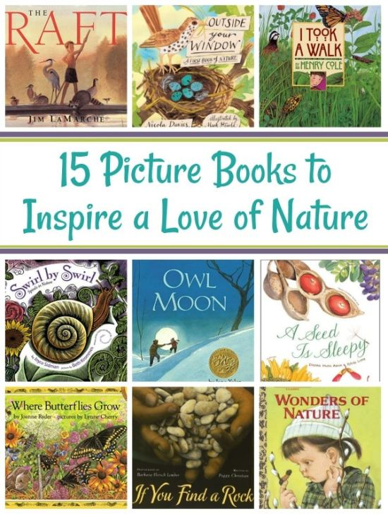 15 Picture Books to Inspire a Love of Nature in Children