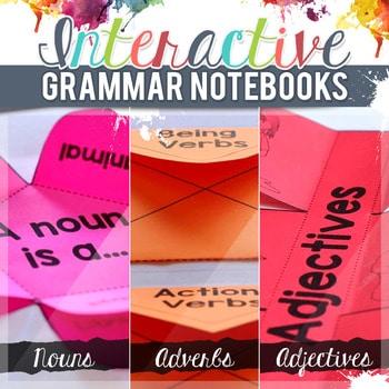 Free Interactive Grammar Notebook Printables