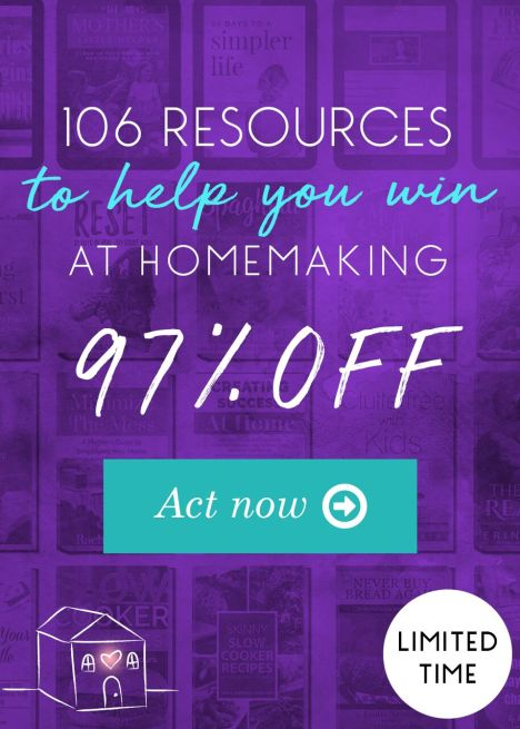Ultimate Homemaking Bundle Flash Sale - Only $29.97! (97% Off!)