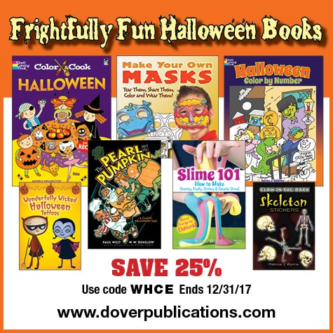 25% Off Dover Little Activity Books - Great Party Favors or Halloween Treats!