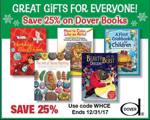 25% Off Dover Products - Gifts for Everyone!