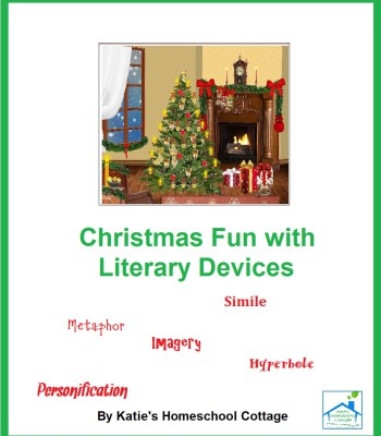 Free Christmas Fun with Literary Devices Pack