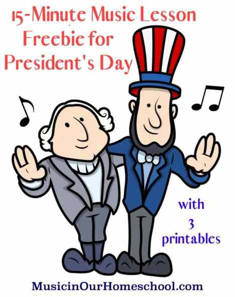 Free President's Day Music Lesson