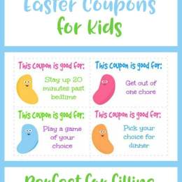Free Easter Coupon Printables for Kids